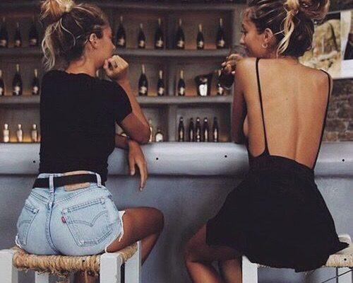 hablar con una amiga